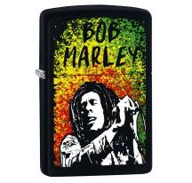 Briquet essence Zippo Bob Marley noir