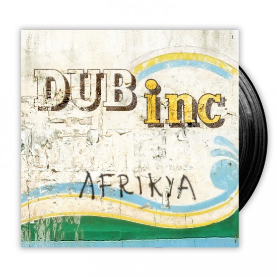 Double VYNIL LP Afrikya Dub inc