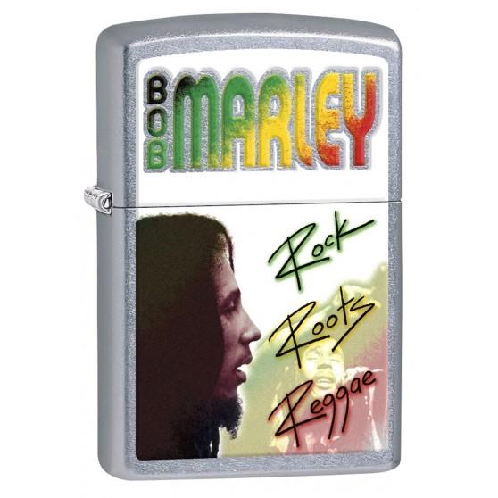Briquet Zippo Bob Marley Rock Roots Reggae