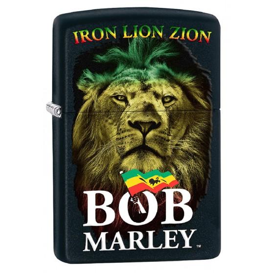 Briquet Bob Marley Noir LION iron lion zion