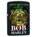 Briquet Zippo Bob Marley Noir LION