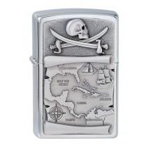Zippo Pirate carte aux trésors