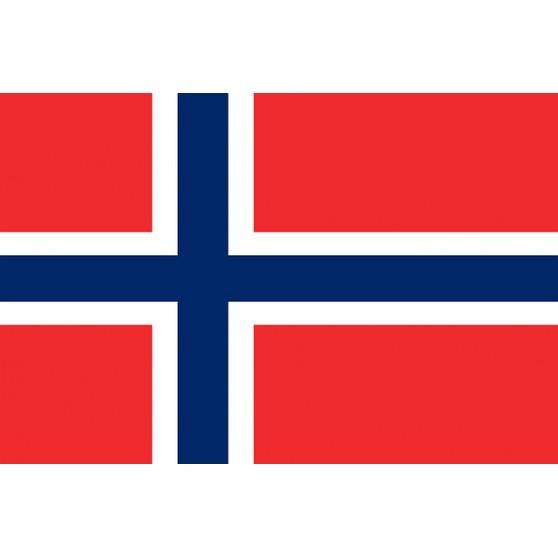 Drapeau Norvège 150x90cm polyester