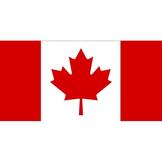 Drapeau Canada 150x90 cm recto-verso