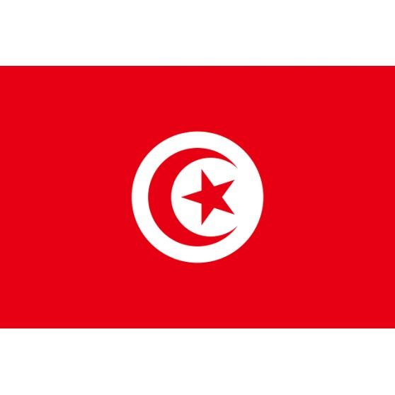Drapeau Tunisie pas cher