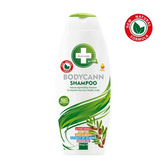SHAMPOING BODYCANN AU CHANVRE 250ML