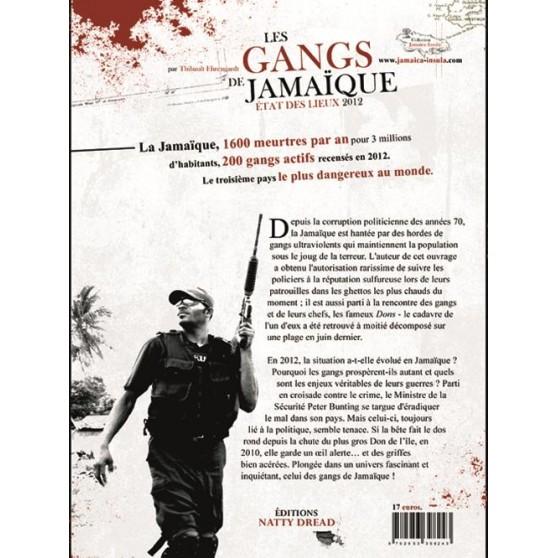 Les gangs de Jamaïque livre-reggae