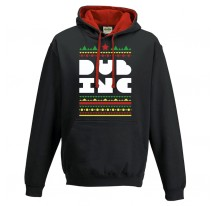 Sweat shirt capuche DUB INC FRISE noir