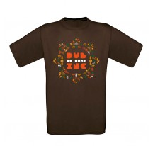 TEE SHIRT Homme DUB INC MARRON ROSACE