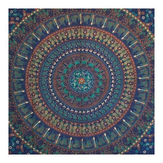 Tenture Mandala Badmeri 140x220