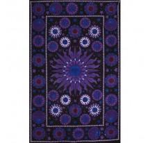 Tenture Sun Purple 100% Coton 140x220cm