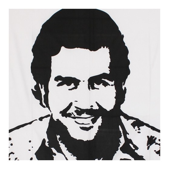 Tenture Pablo Escobar wanted 140x220