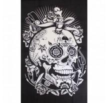 Tenture Skull Circus 140x220cm