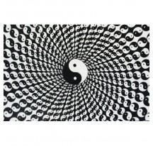 Tenture Yin Yang Spiral 140x220cm