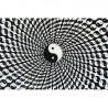 Tenture Ying Yang Spiral 140x220cm