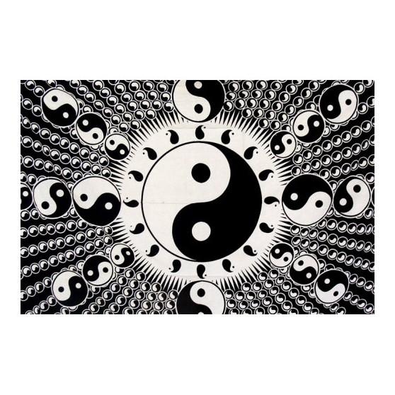 Tenture Ying Yang Psyche 140x220cm