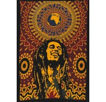 Tenture Bob Marley WORLD 75X110cm