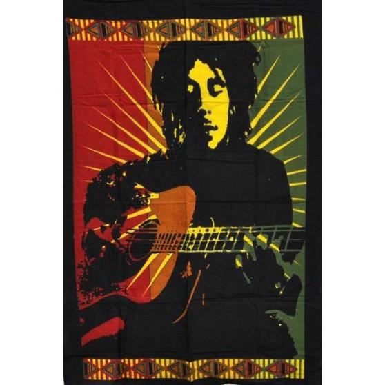 Tenture Bob Marley GUITARE 75X110cm