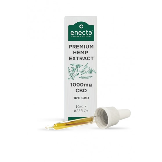 Huile chanvre 3-10-24% CBD ENECTA 10ML