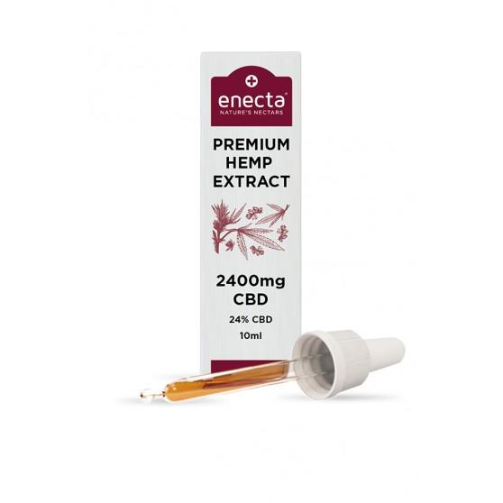 Huile CBD chanvre 3-10-24% ENECTA 10ML