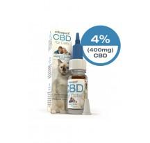 HUILE CBD CIBDOL PR CHAT 4%