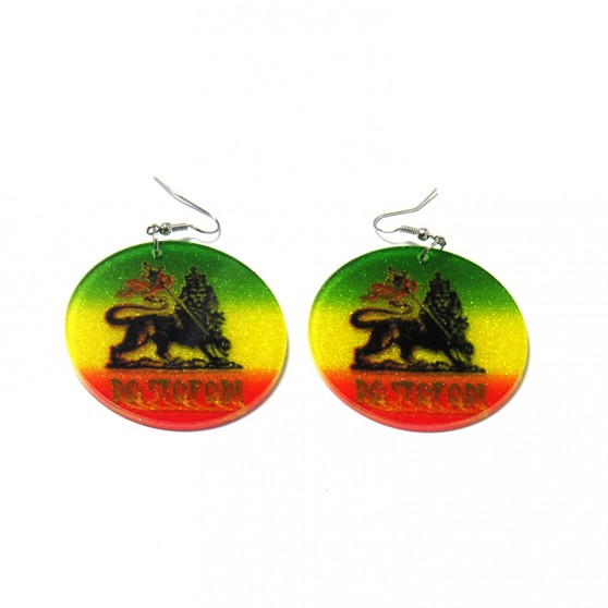 BOUCLES D'OREILLES LION OF JUDAH