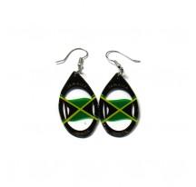 BOUCLES D'OREILLES OVALES JAMAICA