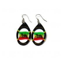 BOUCLES D'OREILLES OVALES LION OF JUDAH