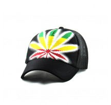 CASQUETTE Reggae Rasta peace and love