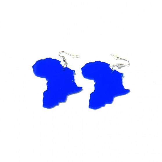 BOUCLES D'OREILLES plastique Africa