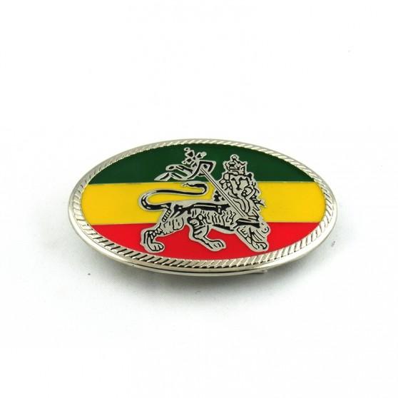 BOUCLE DE CEINTURE RASTA LION