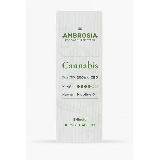 achat e-liquide parfum chanvre au cbd enecta ambrosia