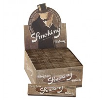 Feuilles slim SMOKING BROWN