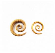 Piercing Spirale Bois Clair