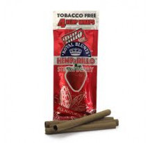 HEMPARILLO ROYAL BLUNTS STRAWBERRY X4
