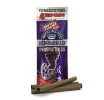 HEMPARILLO ROYAL BLUNTS PURPLE HAZE X4