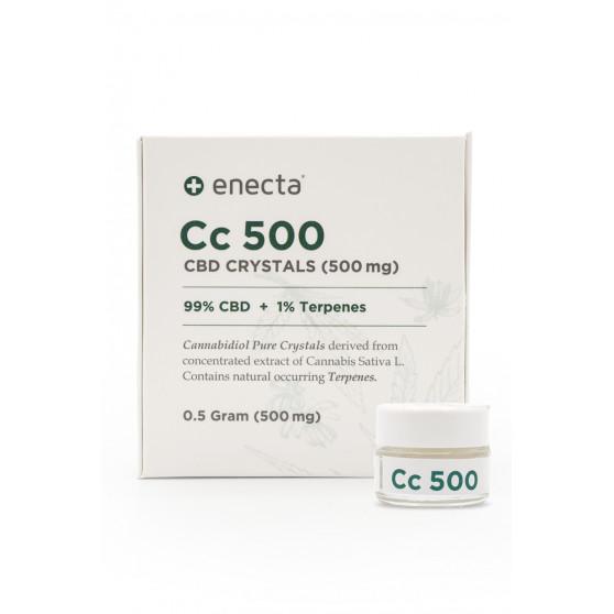 Cristaux CBD Enecta 1% terpene 99%CBD