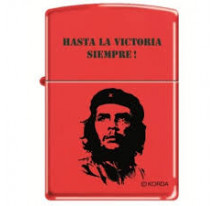 Zippo Che Rouge Noir Hasta Siempre