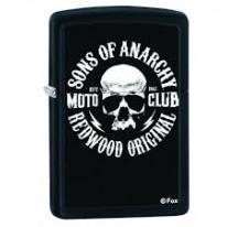 Zippo Son Of Anarchy Moto Club Noir