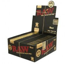 FEUILLES EXTRA SLIM RAW BLACK