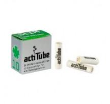 Boite 10 Filtres Actitube Taille Slim