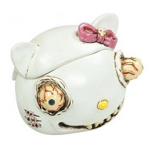 Cendrier Resine hello kitty