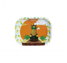 PLATEAU METAL 18X14CM PINEAPPLE EXPRESS