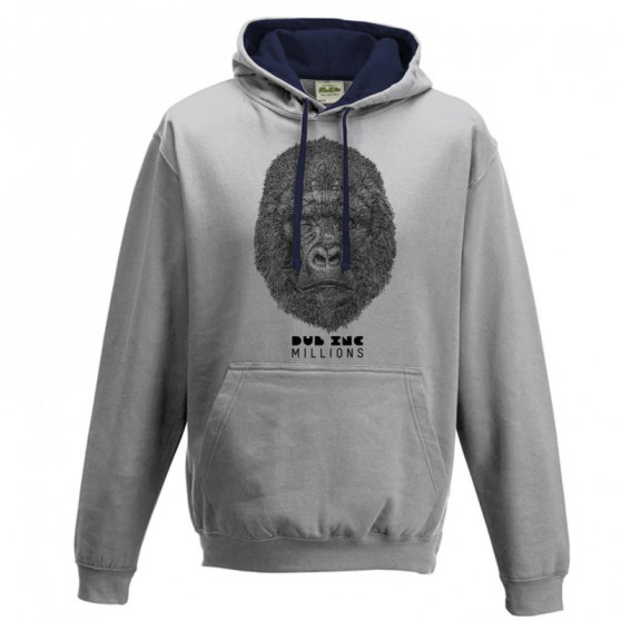Sweat capuche MILLIONS DUB INC Gris