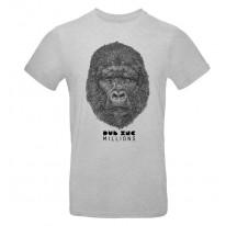 Tee-Shirt Dub Inc MILLIONS gris