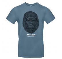 Tee-Shirt Dub Inc MILLIONS bleu