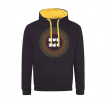 Sweat capuche mandala DUB INC Noir