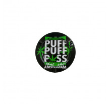 Cendrier metal rond Puff Puff