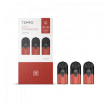 Pack 3 pods CBD STRAWBERRY TEMPO