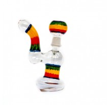BANG VERRE BUBBLER WAX RASTA